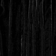 Draping Drops Black Velour