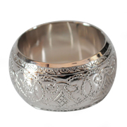 Embossed Napkin Ring