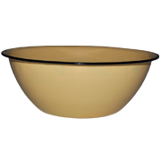 Enamel Tin Bowl C