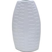 Flat Embossed Vase