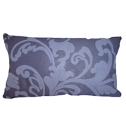 Floral Denim Blue Print Cushion Cover