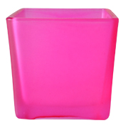 Frosted Cube Pink