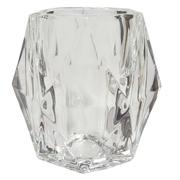Geometric Glass Votive