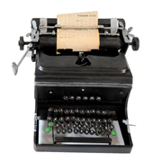 German Truimph Typewriter