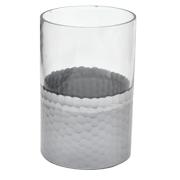 Glass and Silver Hurricane Medium