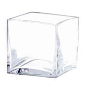 Glass Cube Vase 8cm