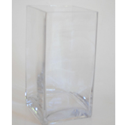 Glass Rectangle Vase