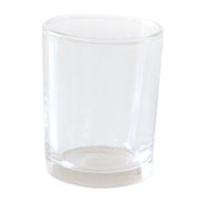 Glass Tealight Votive Medium Straight