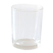 Glass Tealight Votive Medium Straight