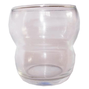 Glass Tealight Votive Small Waist