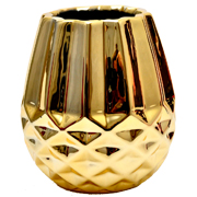 Gold Pineapple Vase