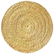 Grass Swazi Round Mat Medium
