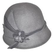 Grey Felt Hat B