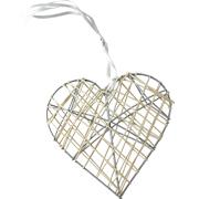Hanging Heart Crisscross