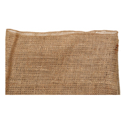 Hessian Runner Overlocked Edge Narrow
