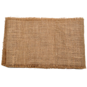 Hessian Runner Rough Edge Narrow