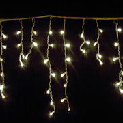 Icicle Fairy Lights LED Warm
