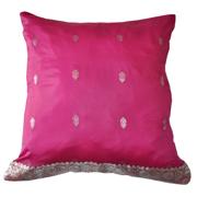 Indian Sari Silk Magenta