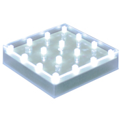 LED Light Base Square White Light