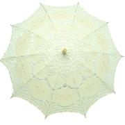 Lace Parasol White