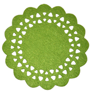 Lime Green Felt Placemat Small