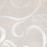 Linen Napkin Cream Swirl