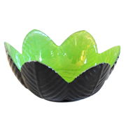 Lotus Votive Lime Green