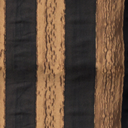 Luxury Table Cloth Stripe Black and Gold