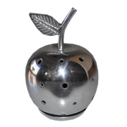 Metal Apple Tealight Votive