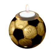 Monkey Ball Candle Holder Soccer Ball Design