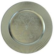 Oriental Under Plate Silver