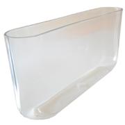 Oval Tank Vase 40 x 8 x 20cm h