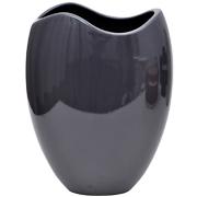 Oval Wave Neck Vase