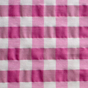 Overlay Gingham Pink and White Medium