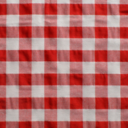 Overlay Gingham Red and White Medium