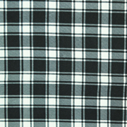 Overlay Gingham Black and White Large Blocks
