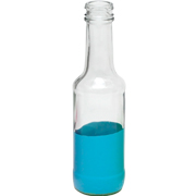Paint Dipped Bottle Blue Medium