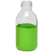 Paint Dipped Bottle Green Small