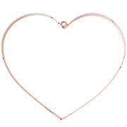 Plain Wired Heart Hanging