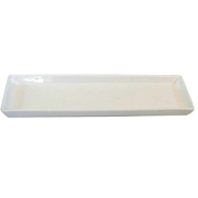 Platter Rectangle White Small
