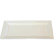 Platter Rectangle White Medium