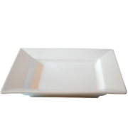 Platter Square White Deep