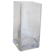 Rectangle Vase 15 x 15 30h