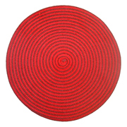 Red and Brown Spiral Mat (Old Stock)