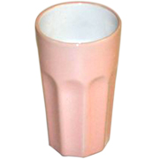 Retro Milkshake Glass Pink