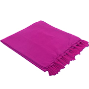 Ribbed Throw Magenta