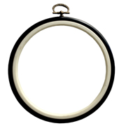 Round Embroidery Hoop Black