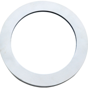 Round Frame White Large