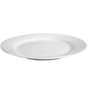 Round Platter White