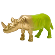 Rubber Animal Rhino Small